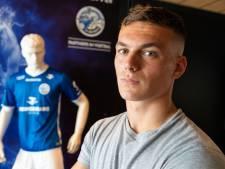 Jizz Hornkamp,  de nieuwe spits van FC Den Bosch, stelt zich voor