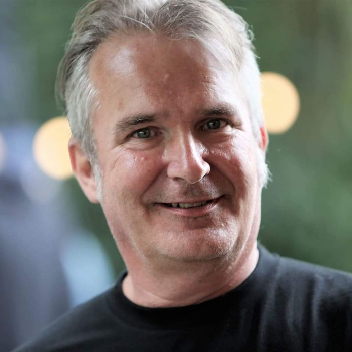 Ronnie Meurs, bestuurslid van de Zonnebloem Zoetermeer-Zuid