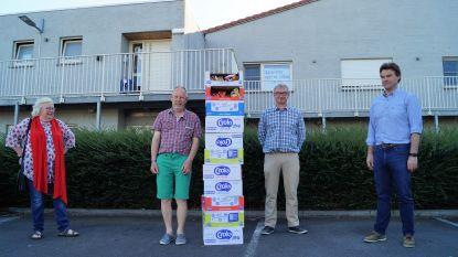 KFC Lichtervelde schenkt... 220 zakjes chips aan Tordale