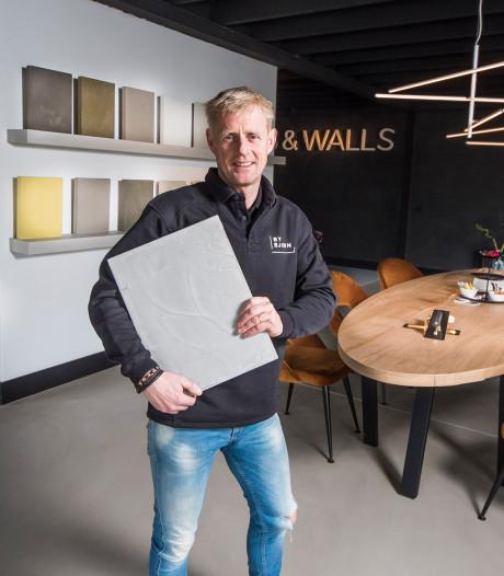 Vloervirtuoos Bjorn uit De Lutte wil gaan knallen met nieuw product 'Pure Beton'