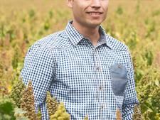 Rens Kuijten uit Sterksel wil iedereen aan de quinoa: de 'nieuwe aardappel'
