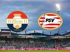 LIVE | PSV met De Jong op middenveld en Malen als spits in Tilburg