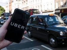 Taxidienst Uber blijft nog maanden actief in Londen