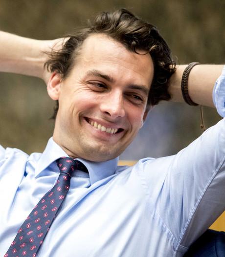 Thierry Baudet wéér niet bij debat: 'Laf, laf, laf'