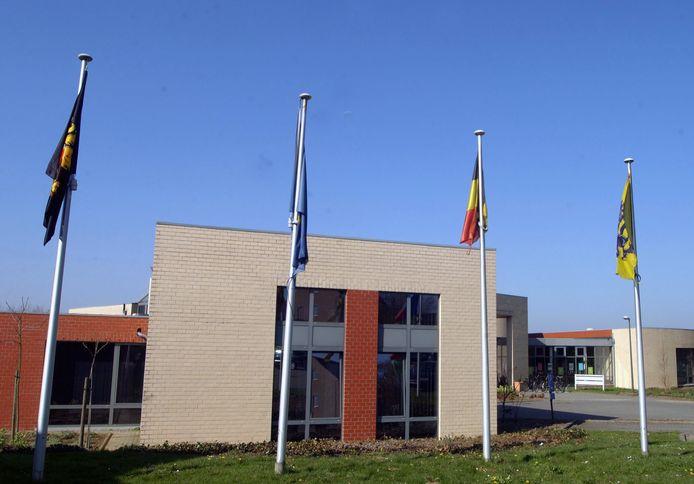 Het gemeentehuis van Holsbeek.