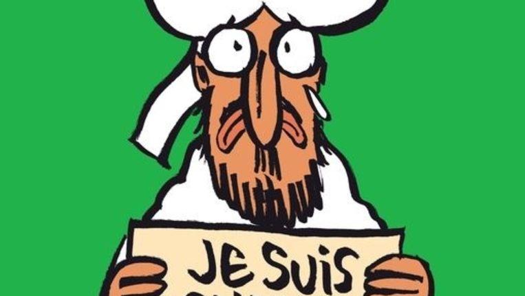 De voorpagina van de komende Charlie Hebdo. Beeld Charlie Hebdo