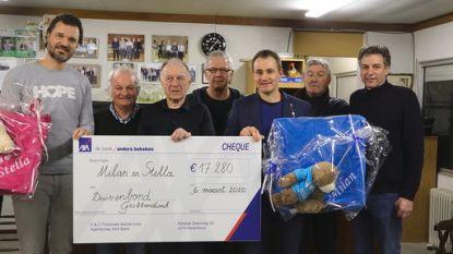 Duivenmelkers schenken 17.280 euro aan kankerpatiëntjes via duivenveiling