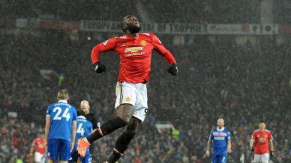 En nu juicht hij wel: Lukaku maakt 17de goal voor Man United in 3-0-zege tegen Stoke City