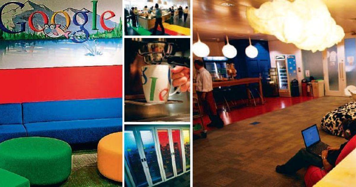 Google Hoofdkwartier Londen : Snoepen en kickeren in googleplex technologie de morgen