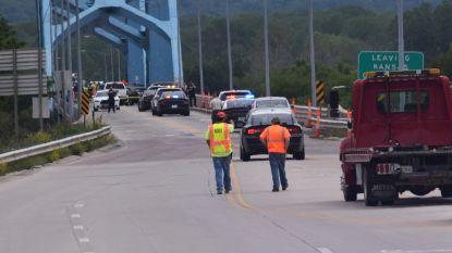 Militair rijdt in op schutter aan brug en vermijdt bloedbad in VS