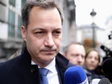 """De Croo: """"La politique d'asile ferme mais humaine se poursuivra"""""""