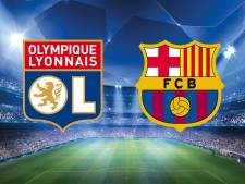 Depay en Tete ontvangen met Lyon Barcelona