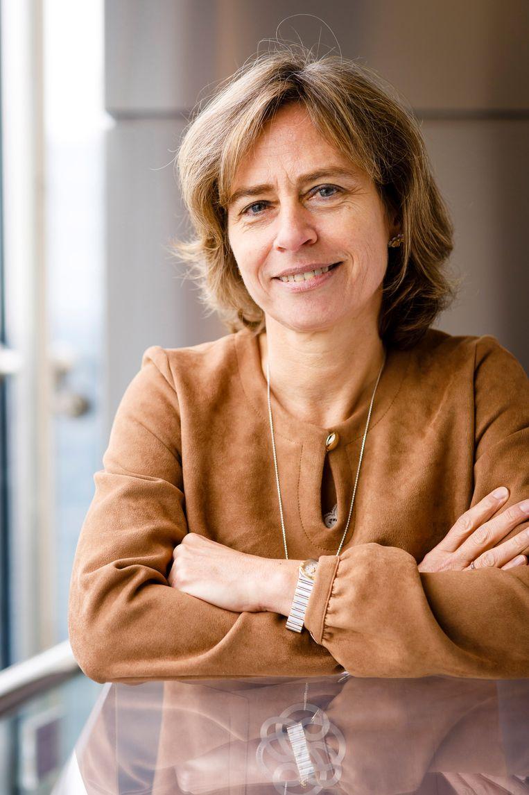 Dominique Leroy. Beeld KPN