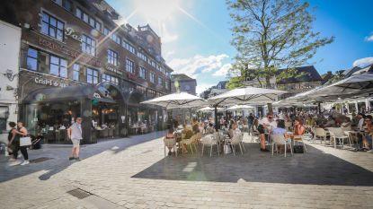 Nergens meer Limburgse terrasjes dan in Hasselt en Genk
