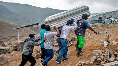 Twintig journalisten die coronacrisis coverden overleden in Peru