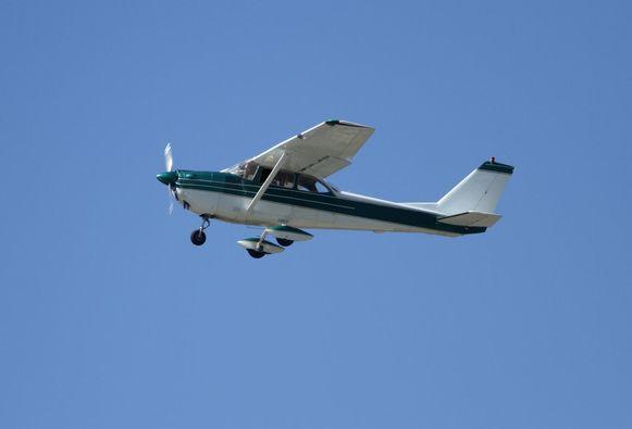 Voorbeeld van een sportvliegtuigje.
