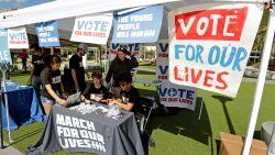 """""""Stem alsof je leven ervan af hangt"""": geven de overlevende jongeren van de Parkland-schietpartij de doorslag bij de midterms?"""