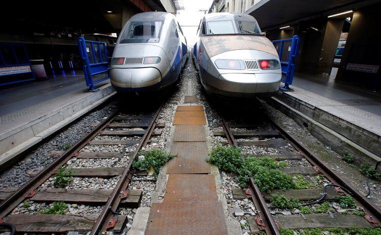 De Franse TGV Beeld REUTERS