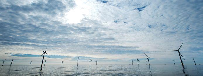 Windpark Luchterduinen van Eneco.