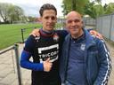 Supporter Bras Brooijmans met Sol.