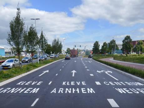 Fietstunnels bij de Energieweg in Nijmegen om autofiles tegen te gaan