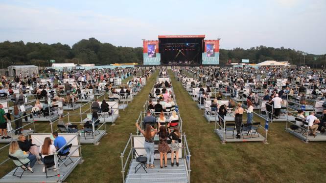 Eén platform per bubbel: eerste coronaveilige concert is succes in Verenigd Koninkrijk