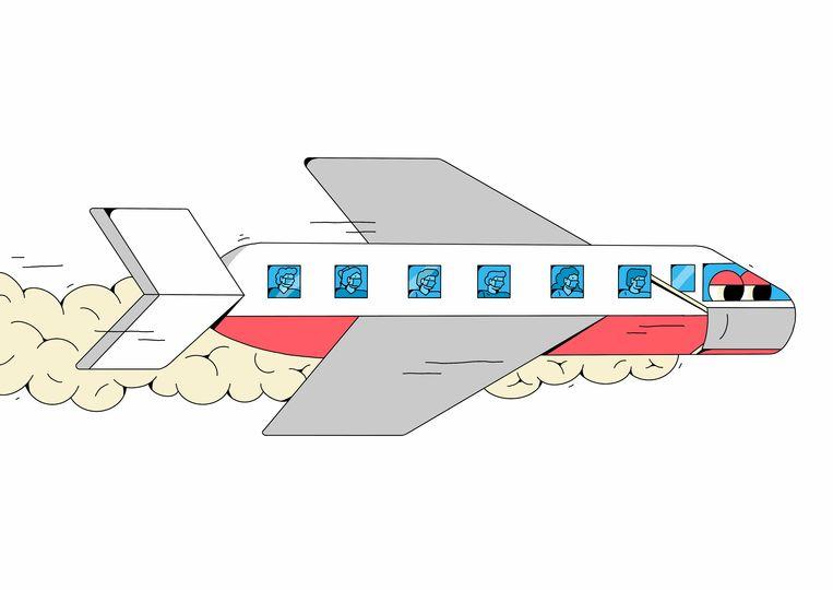 Ryanair pakt ermee uit dat al hun vliegtuigen voortaan zijn uitgerust met een geavanceerd 'luchtfiltratiesysteem', dat werkt volgens 'ziekenhuisnormen'    Beeld Feleon