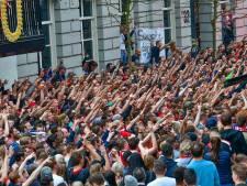 17 aanhoudingen verricht tijdens PSV-gekte in Eindhoven