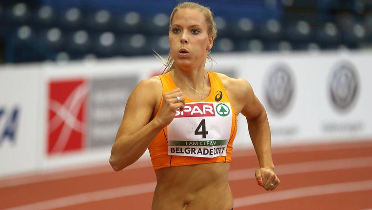 Nadine Broersen in Belgrado Beeld null