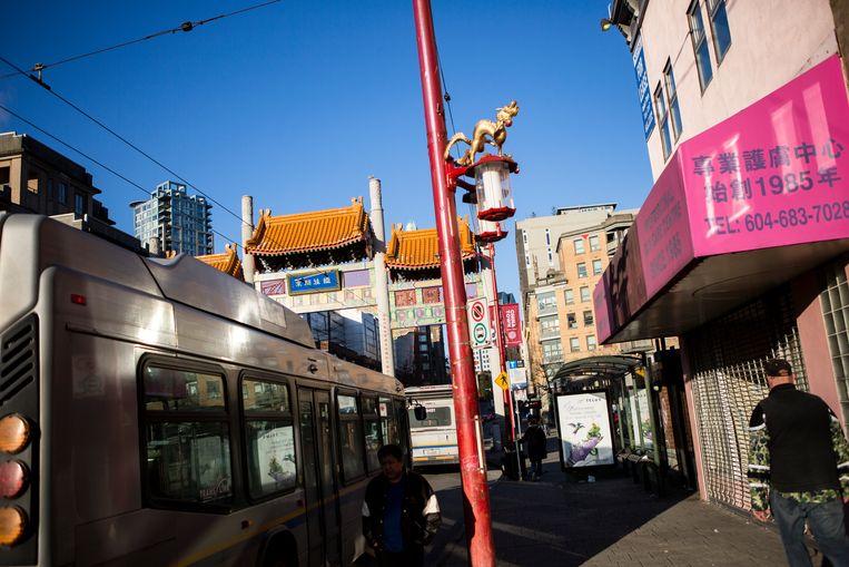 Chinatown in Vancouver. Beeld  Julius Schrank