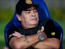 Boete voor Maradona wegens politieke stellingname