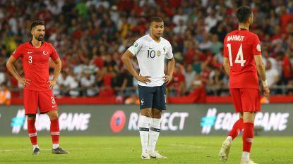 EK-KWALIFICATIE. Wereldkampioen Frankrijk de boot in - Anderlecht-verdediger schlemiel bij Wales