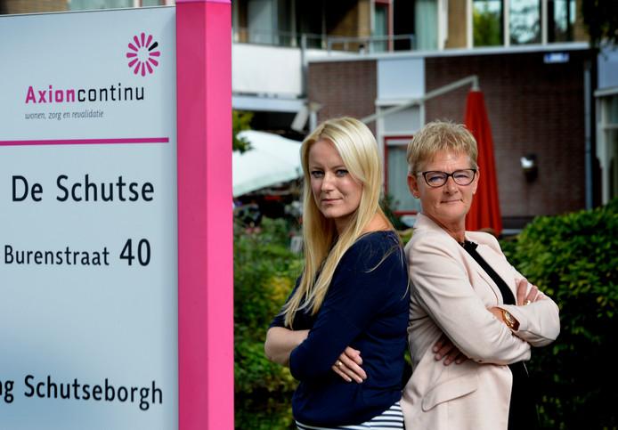 Marry Langerak en Annet Eikendal. Foto William Hoogteyling