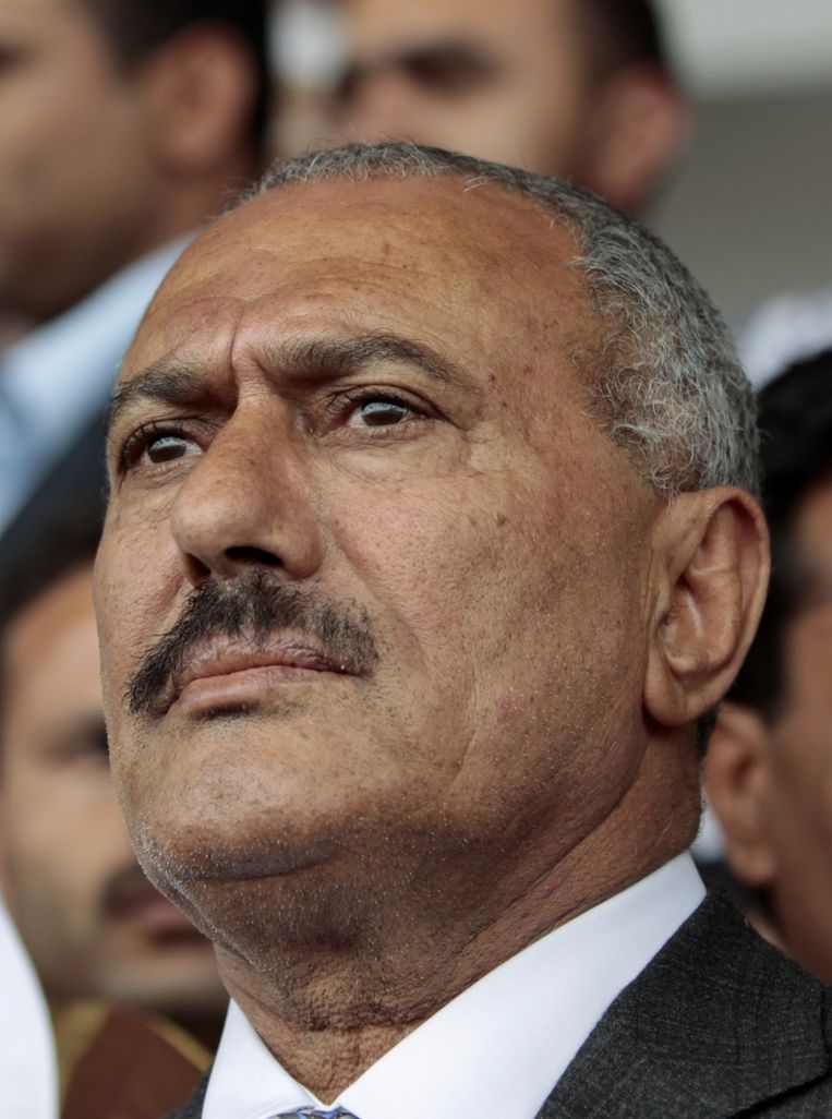 President Saleh Beeld reuters