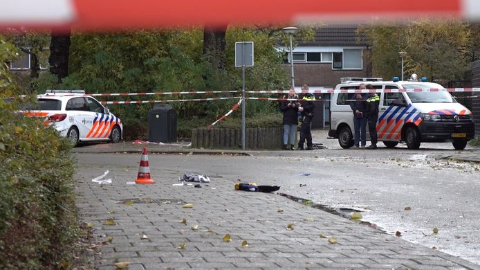 Agenten hebben woensdagochtend een 48-jarige vrouw neergeschoten die voertuigen aan het vernielen was tegenover een basisschool in Alkmaar. Leerlingen van de school zouden de schietpartij hebben gezien.