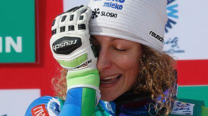 Wereldkampioene afdaling scheurt kruisbanden: geen Winterspelen