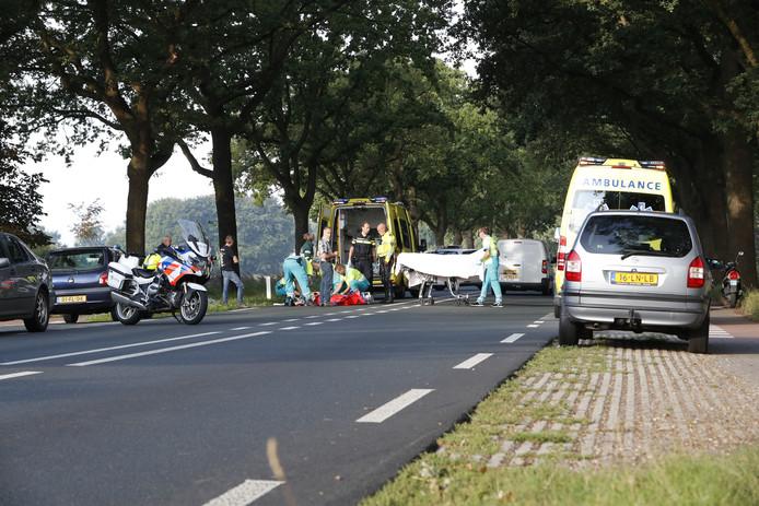 Fietser ernstig gewond bij ongeval Zuiderzeestraatweg.