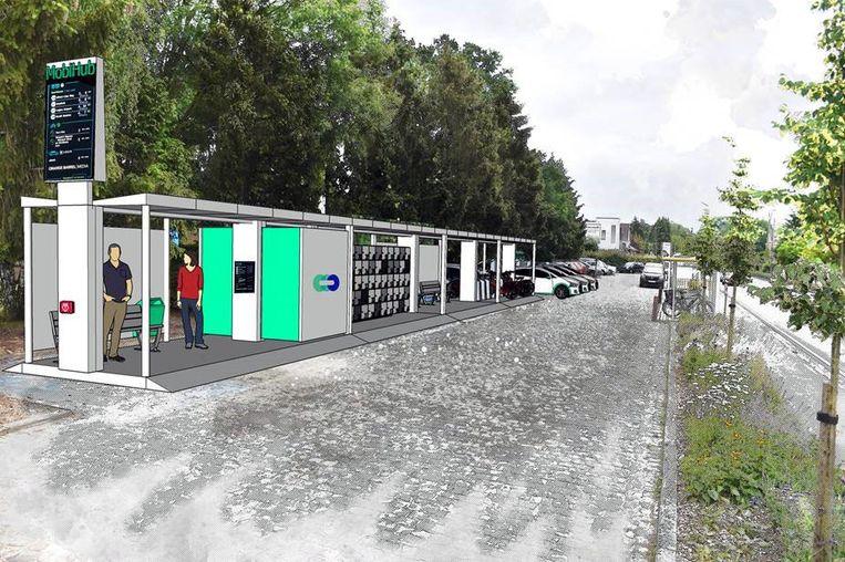 De stad Leuven gaat 50 mobipunten inrichten om de mobiliteitsknoop te ontwarren.