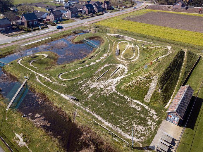 Het Bikepark in Liessel heeft nieuwe onderdelen gekregen.