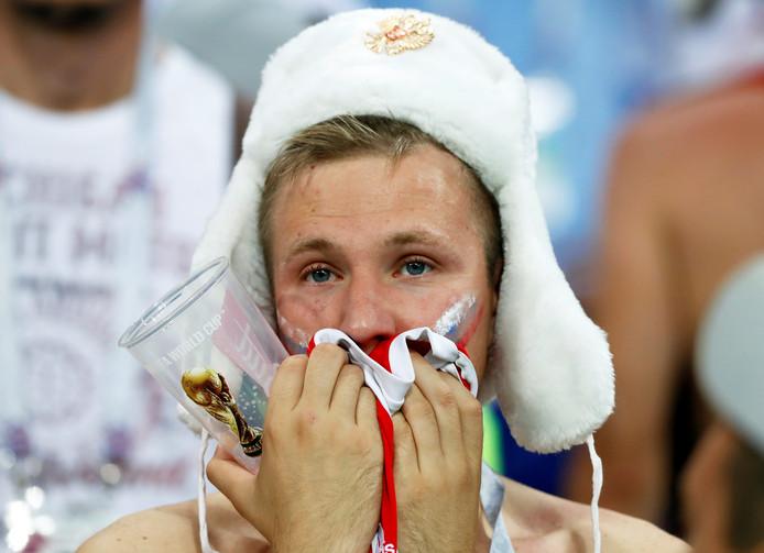 Deze Russische fan kan het nog niet geloven...