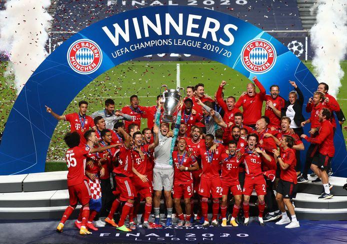 Bayern Munchen won op 23 augustus de Champions League door Paris Saint-Germain met 1-0 te verslaan in Lissabon.