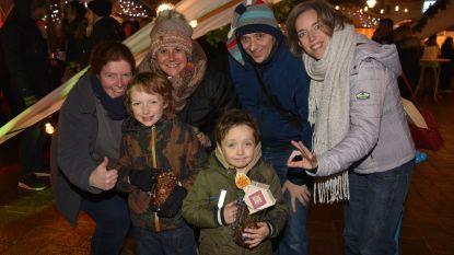 Veel volk op kerstmarkt