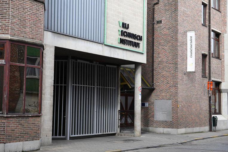De toegangspoort van het VTI.