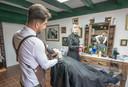 The London Barbers zijn nu twee weken open.