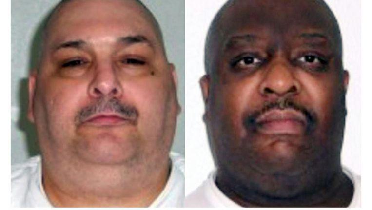 De 52-jarige Jack Jones en 46-jarige Marcel Williams zijn in Arkansas geëxecuteerd met een dodelijke injectie. Beeld afp