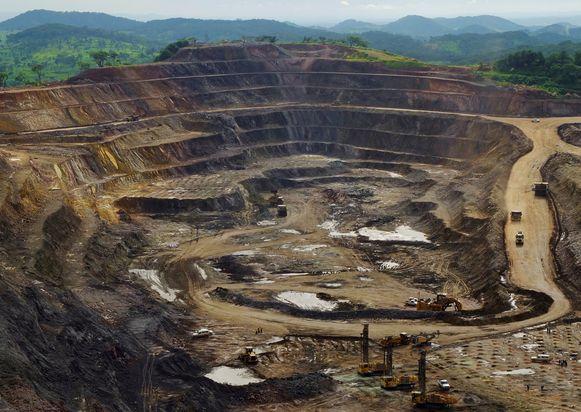 Archiefbeeld: een koper- en kobaltmijn in Congo.