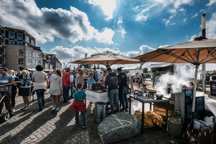 De Doesburgse Kadedagen in 2017. Gezelligheid bij de IJssel.
