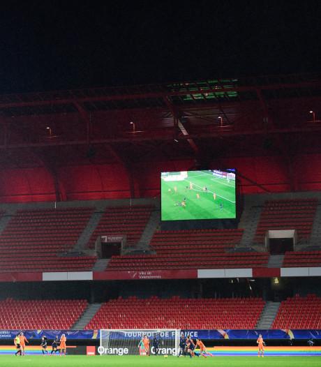 Plus aucun match international de football jusqu'à la fin du mois de juin