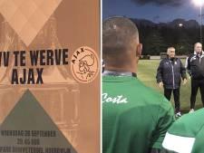 Te Werve gaat genieten tegen Ajax: 'Niemand rekent op stunt'