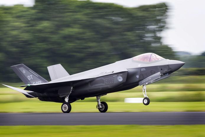 De F-35 komt naar verwachting in de loop van 2021 naar de vliegbasis Volkel. Uden en omgeving schieten daar economisch weinig mee op.